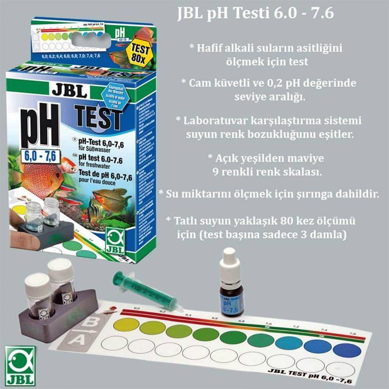 Jbl Ph 6.0-7.6 Akvaryum Suyu Test Seti
