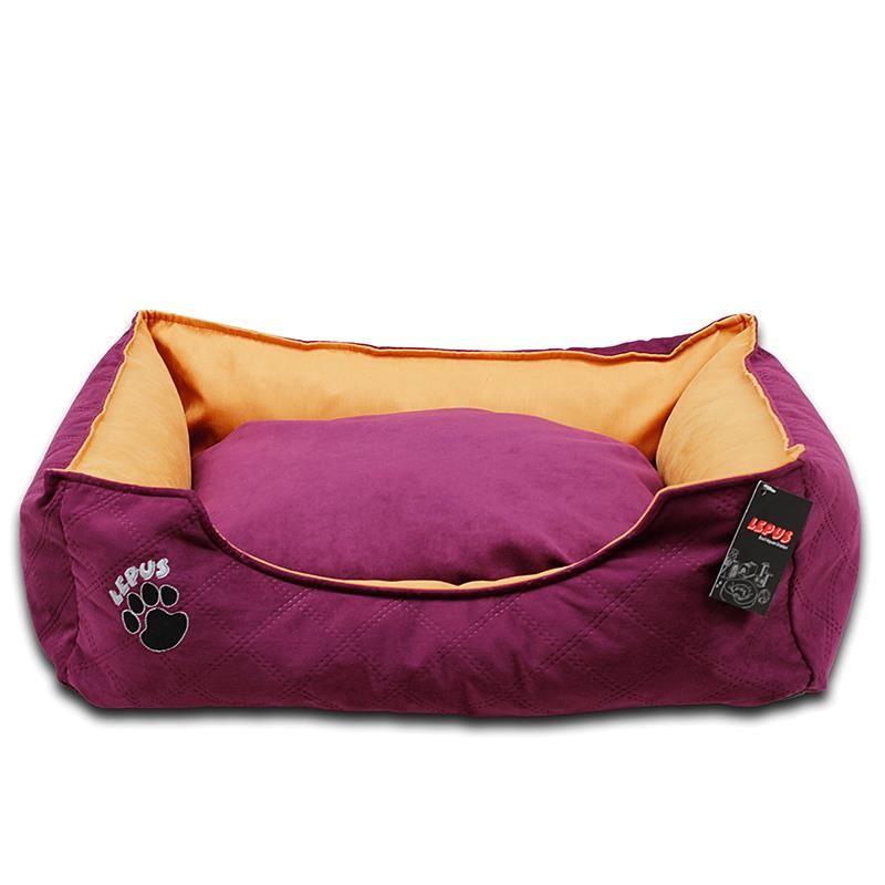 Lepus Soft Plus Köpek Yatağı Mor Large