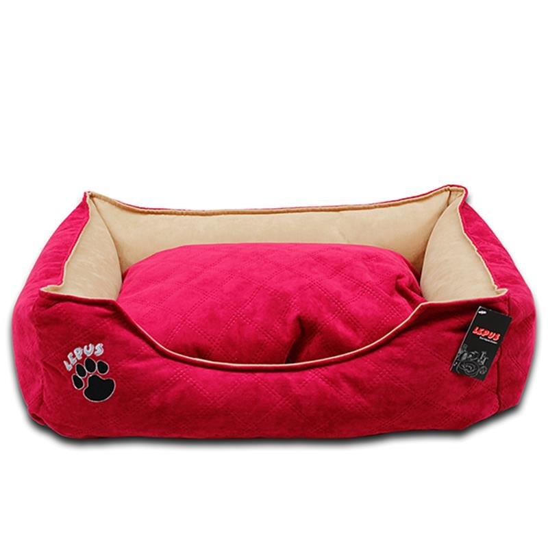 Lepus Soft Plus Köpek Yatağı Fuşya Large