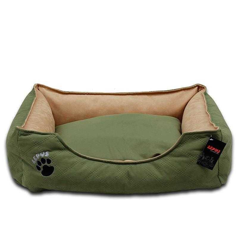 Lepus Soft Plus Kedi & Köpek Yatağı Yeşil Medium