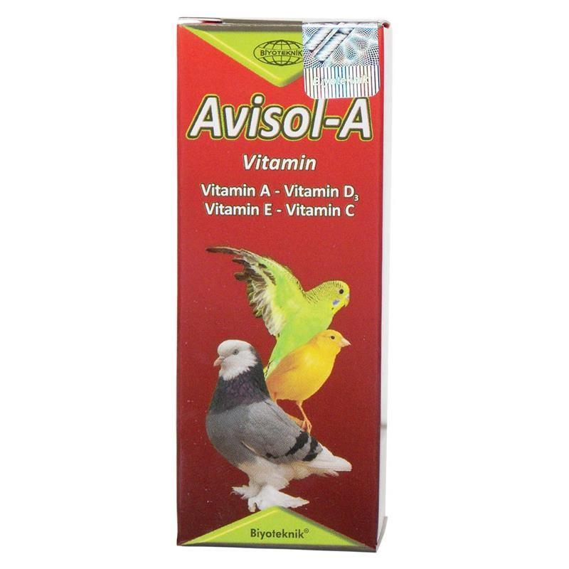 Biyo Avisol-A Kuşlar İçin Vitamin