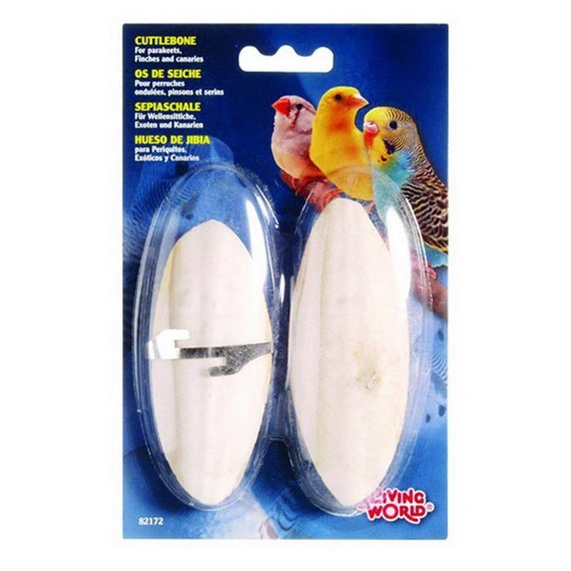 Living World Mürekkep Balığı Kemiği 12,5 Cm 2'li paket