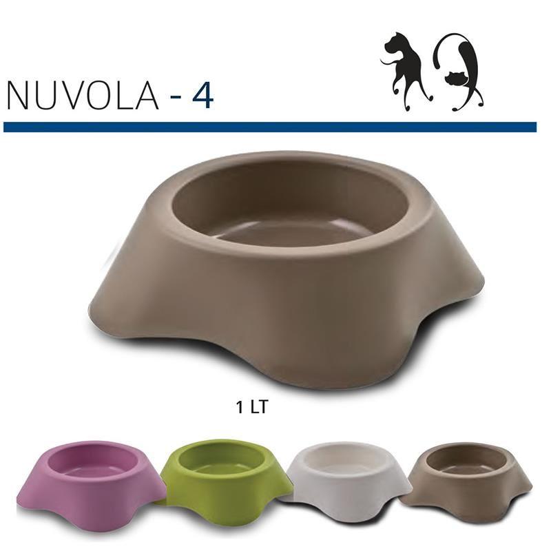 MP Nuvola4 Kedi Köpek Mama Su Kabı 1 Litre