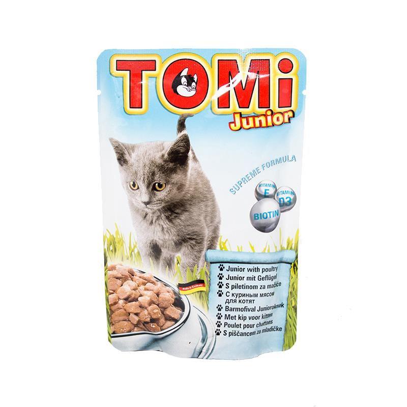 Tomi Junior Pouch Yavru Kedi Konservesi 100 Gr
