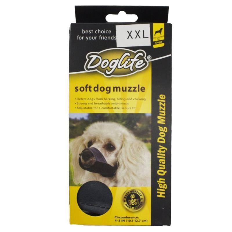 Doglife Köpekler İçin Soft Bez Ağızlık XXLarge