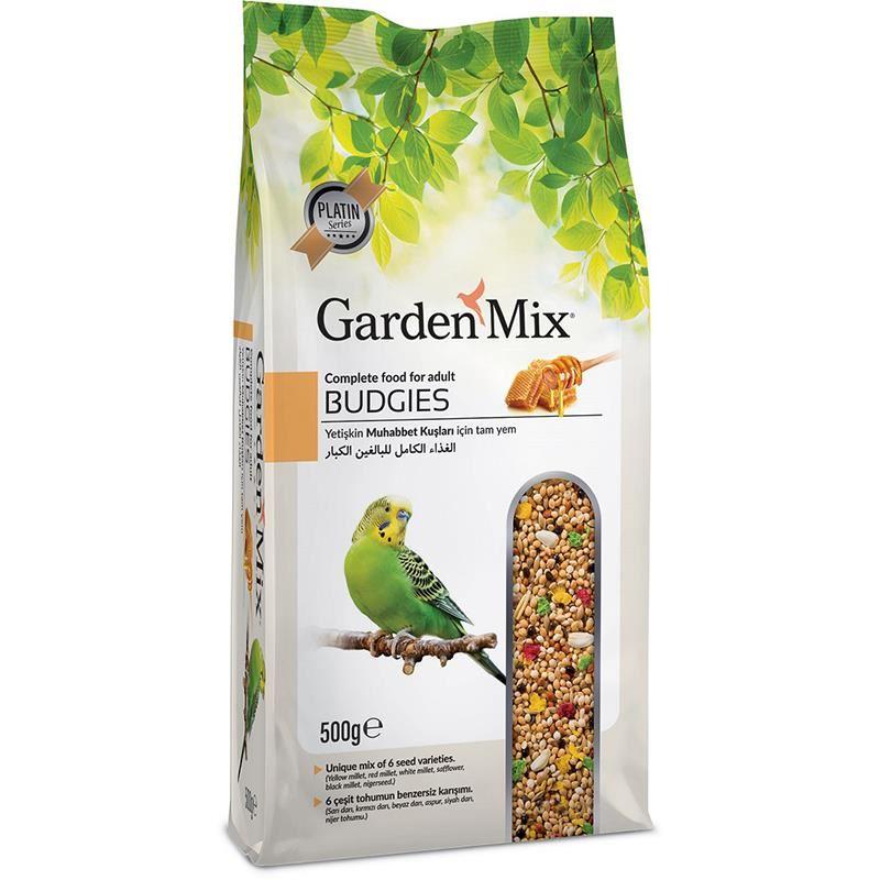 Gardenmix Platin Ballı Muhabbet Kuş Yemi 500 Gr