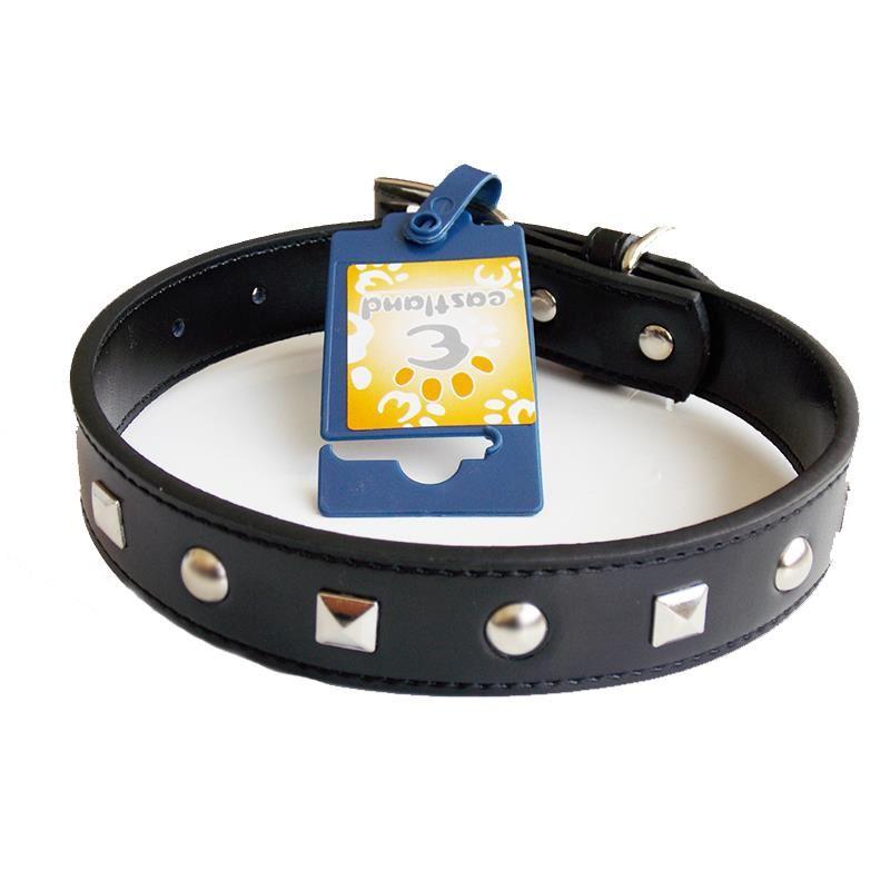 Eastland Metal İşlemeli Deri Köpek Boyun Tasması 50 Cm