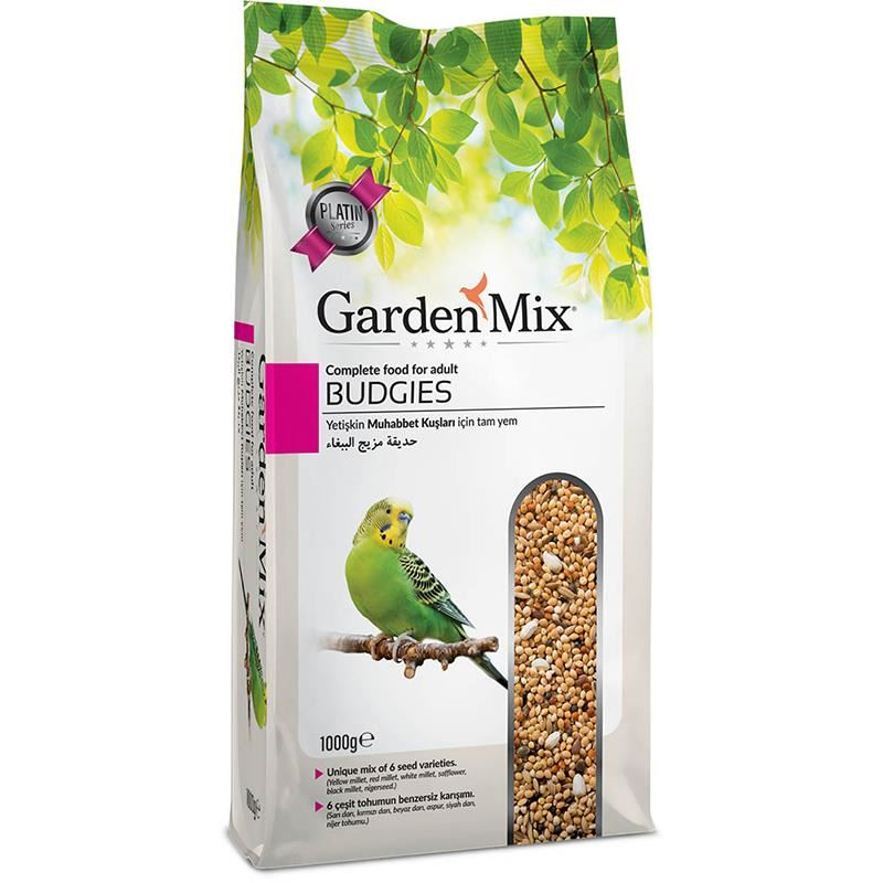 Gardenmix Platin Muhabbet Kuş Yemi 1 Kg