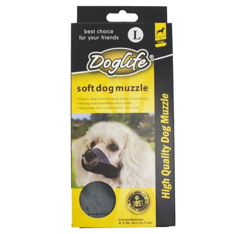 Doglife Köpekler İçin Soft Bez Ağızlık Large