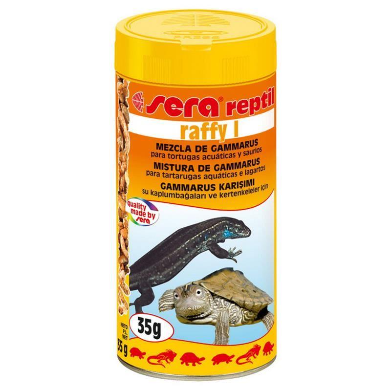 Sera Raffy I Gammarus Karışımı Kaplumbağa Yemi 250 Ml / 35 Gr