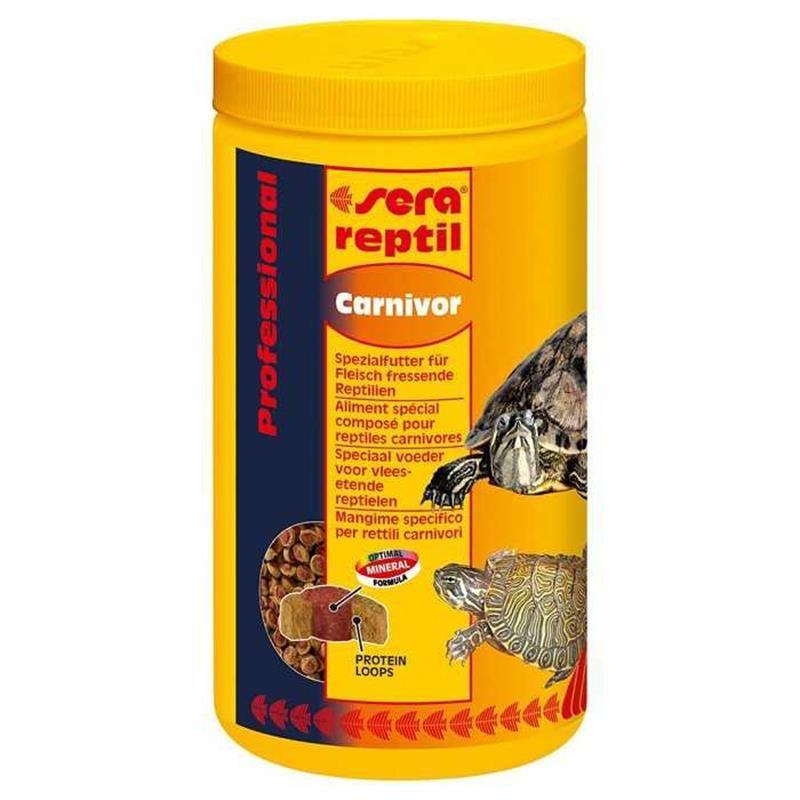 Sera Reptil Professional Carnivor Etçil Kaplumbağa Yemi 1000 Ml / 350 Gr