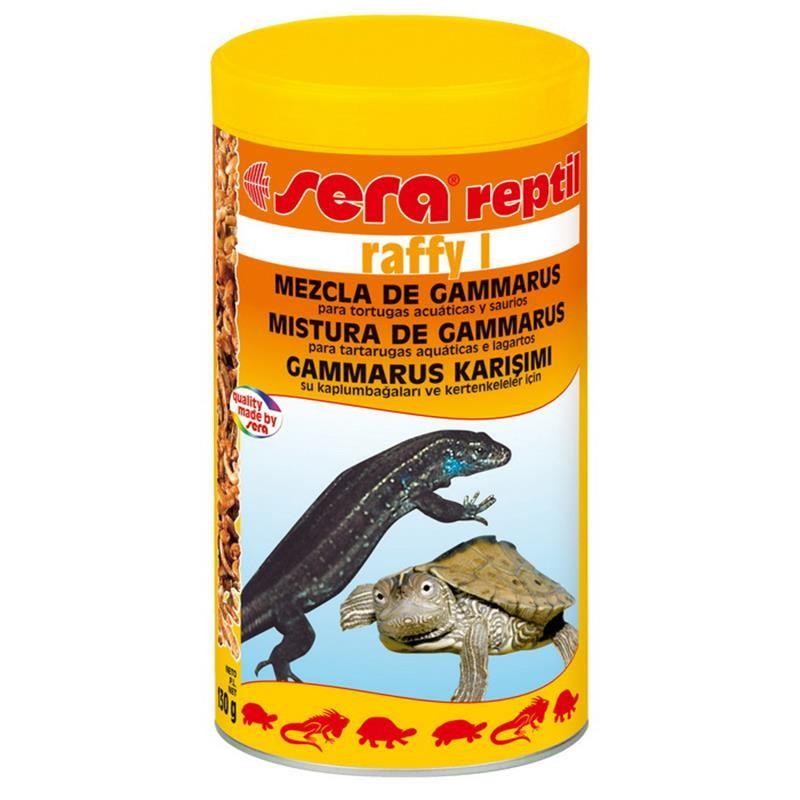 Sera Raffy I Gammarus Karışımı Kaplumbağa Yemi 1000 Ml / 130 Gr