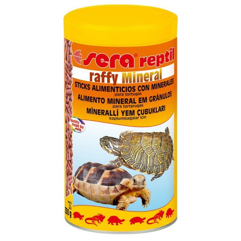 Sera Raffy Mineral Kaplumbağa Yemi 1000 Ml / 250 Gr