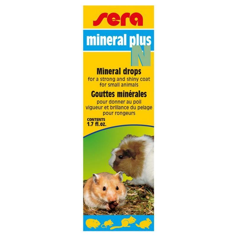 Sera Mineral Plus N Kemirgenler İçin Mineral 50 ml