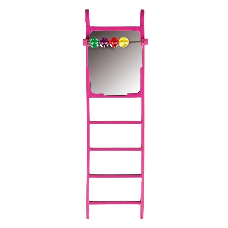 Karlie Kuşlar İçin Aynalı Merdiven Oyuncağı 20 Cm