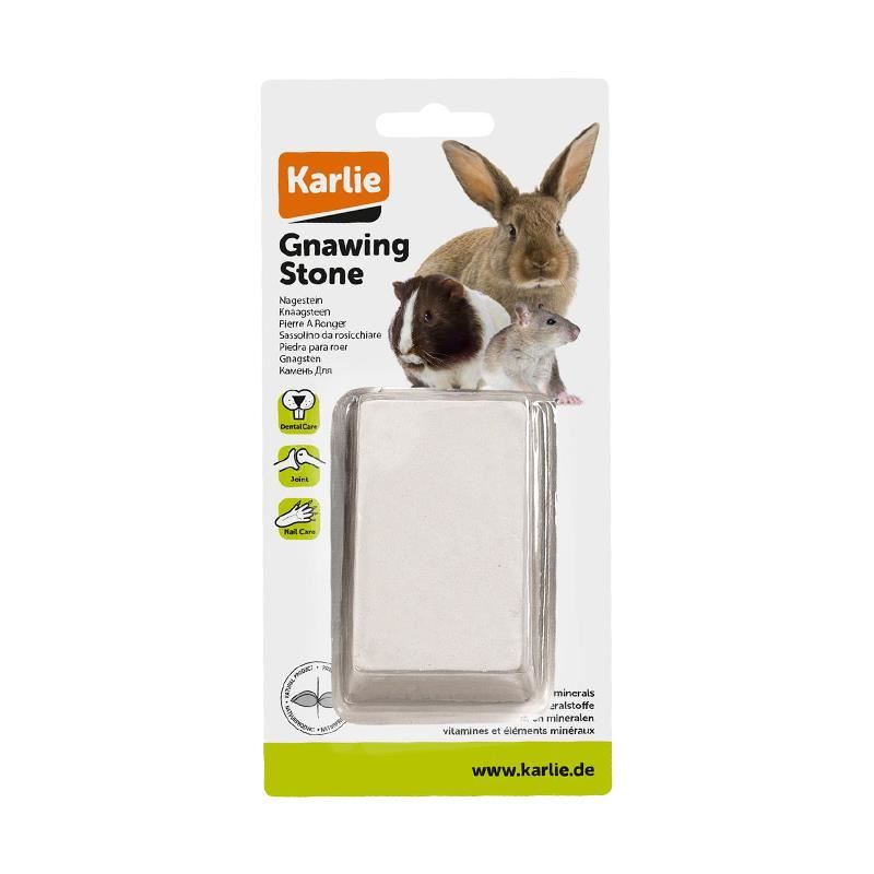 Karlie Tavşan Ginepig ve Hamster İçin Kemirme Taşı Vitamin-Mineral 135 Gr