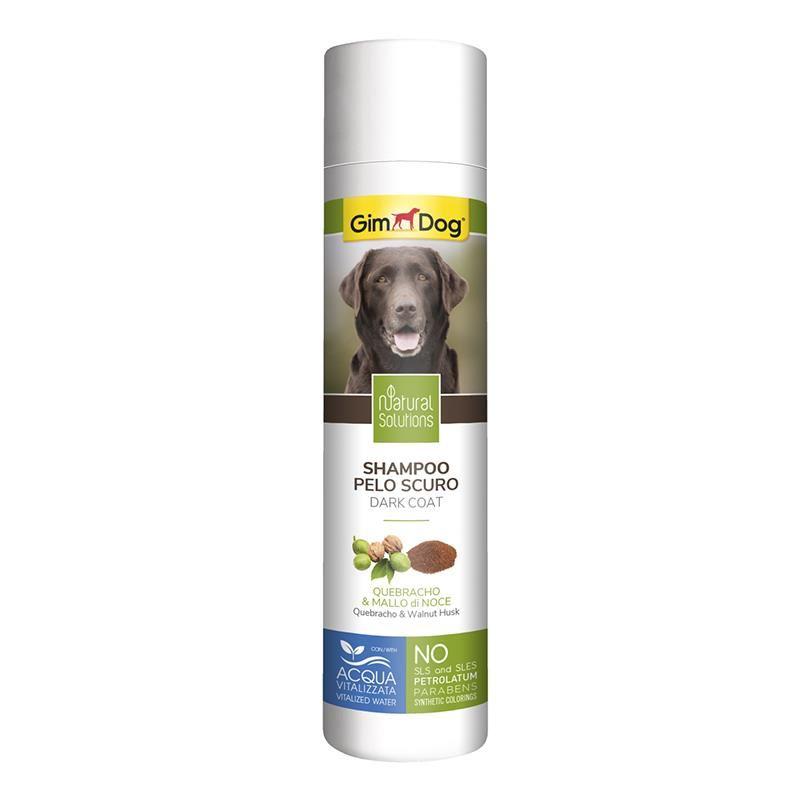 GimDog Natural Solutions Koyu Tüylü Köpek Şampuanı 250 Ml