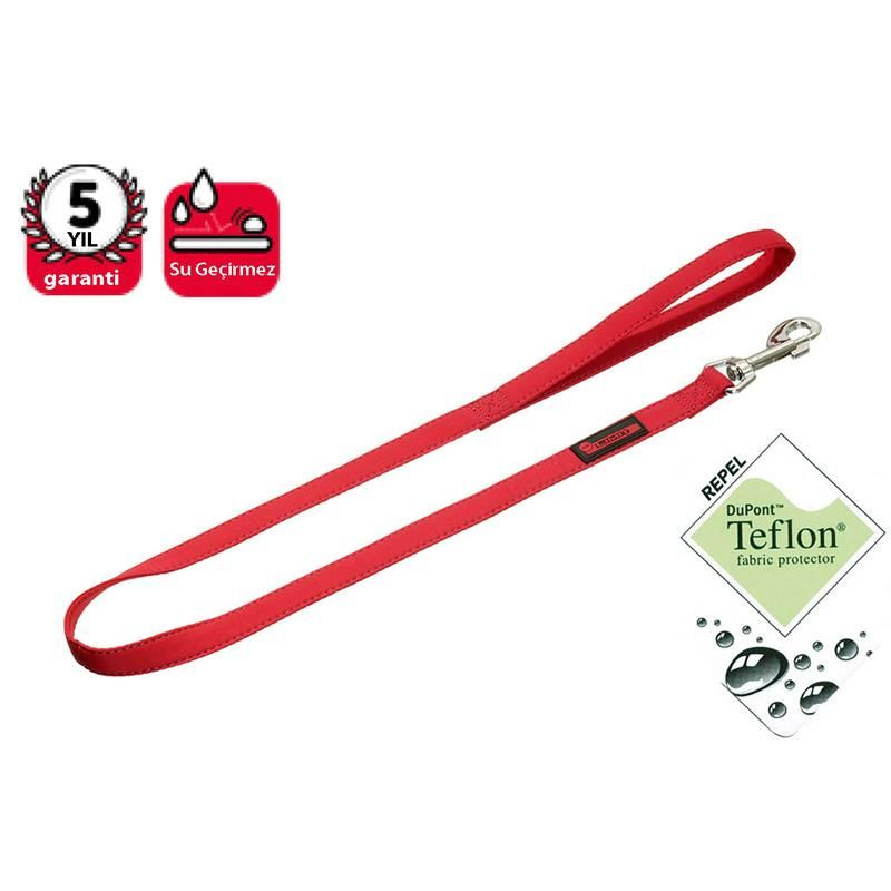 Karlie No Limit Teflon Köpek Uzatma Tasması 100Cm/15Mm Kırmızı