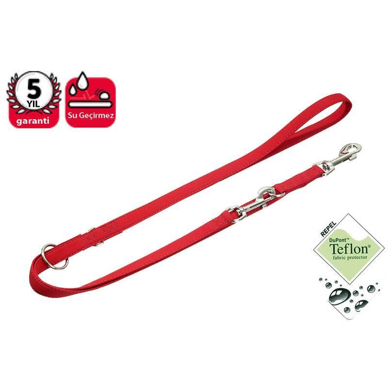 Karlie Soft Köpek Eğitim Uzatma Tasması 200Cm/15Mm Kırmızı