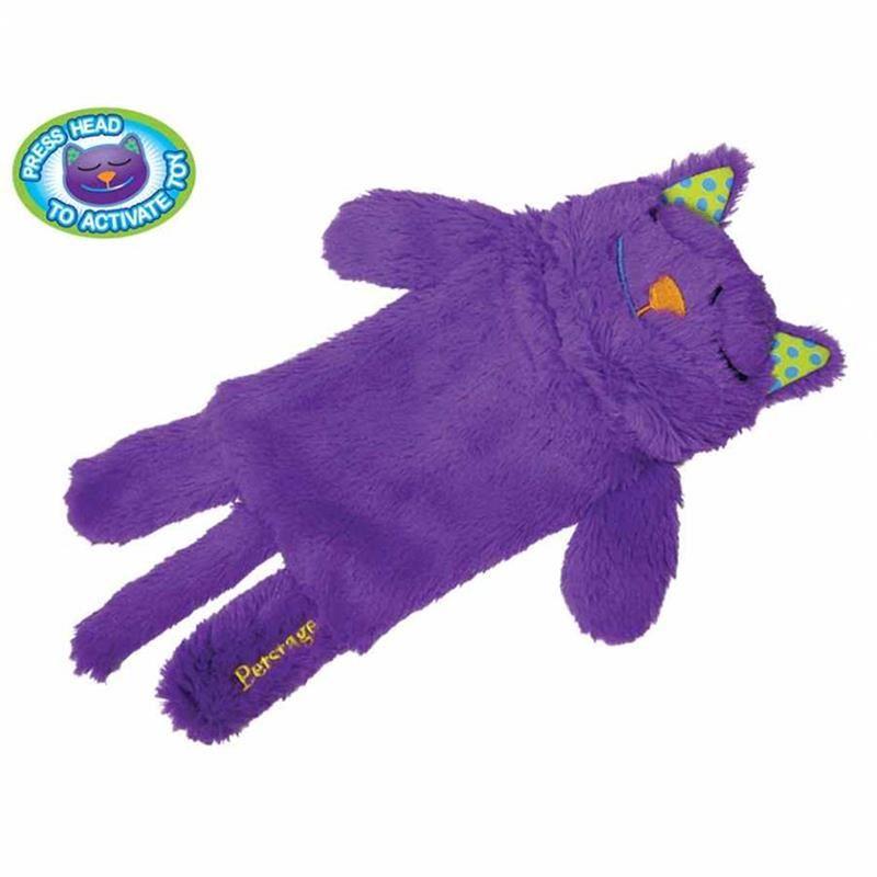 Petstages Hırıltı Sesli Peluş Kedi Oyuncağı 30 Cm
