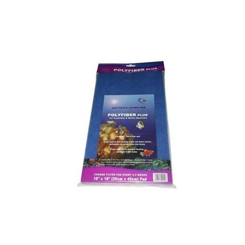 Resun Filtre Süngeri Poly Fiber Mavi 25x45 cm
