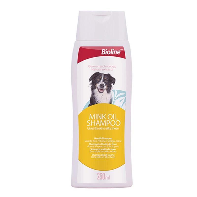 Bioline Köpekler İçin Vizon Yağlı Şampuan 250 Ml