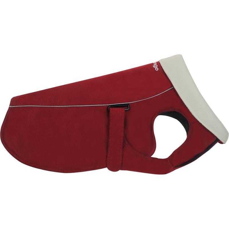 Reddingo Kırmızı Nubuk Mont Köpek Elbisesi 45 Cm