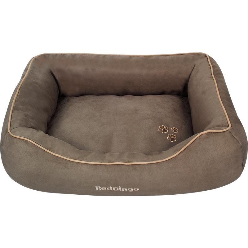 Reddingo Boz Kahverengi Köpek Yatağı Large