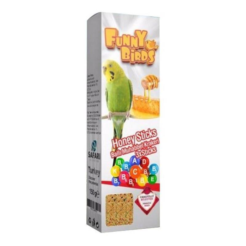 Funny Birds Ballı Kraker 3'lü
