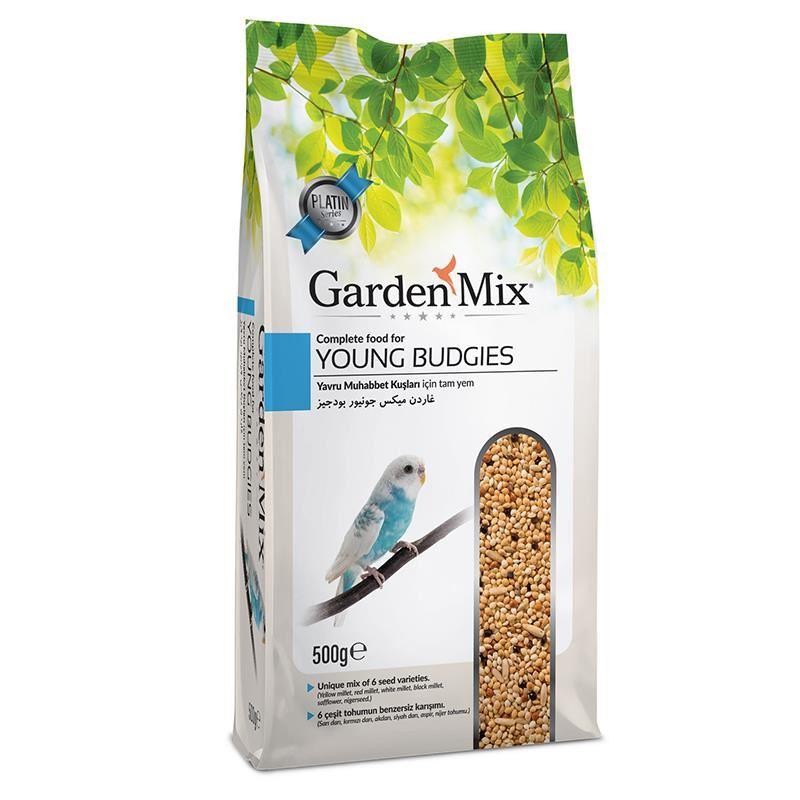 Gardenmix Platin Yavru Muhabbet Kuşu Yemi 500 Gr