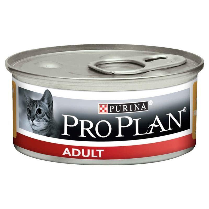 Proplan Adult Tavuk Etli Yetişkin Kedi Konservesi 85 Gr