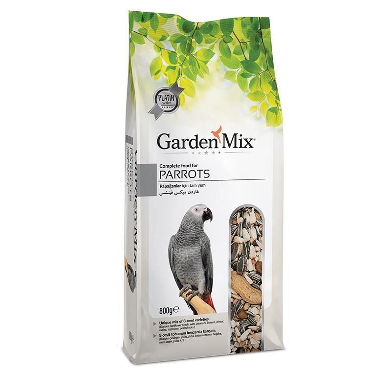 Gardenmix Platin Papağan Yemi 800 Gr