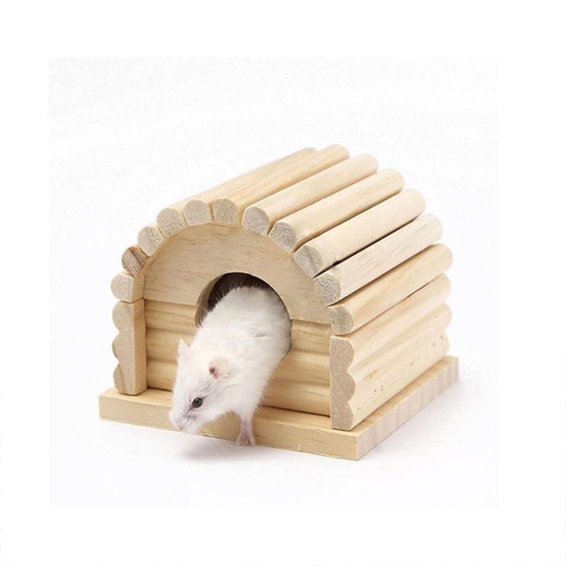 Carno Hamster Evi Naturel Ahşap No 114