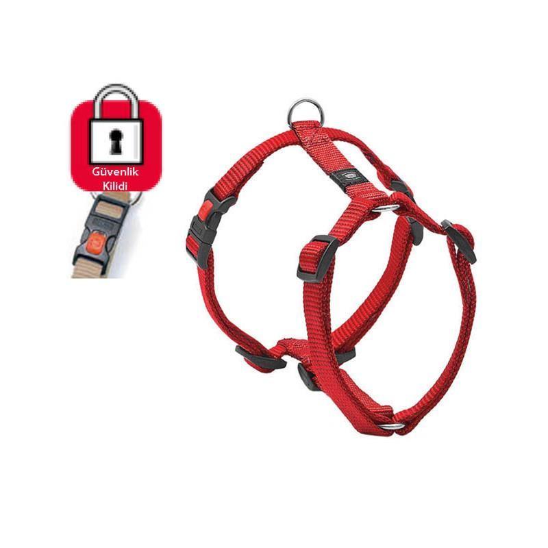 Karlie Art Sportiv Plus Kilitli Köpek Göğüs Tasması XSmall 25-40cm Kırmızı