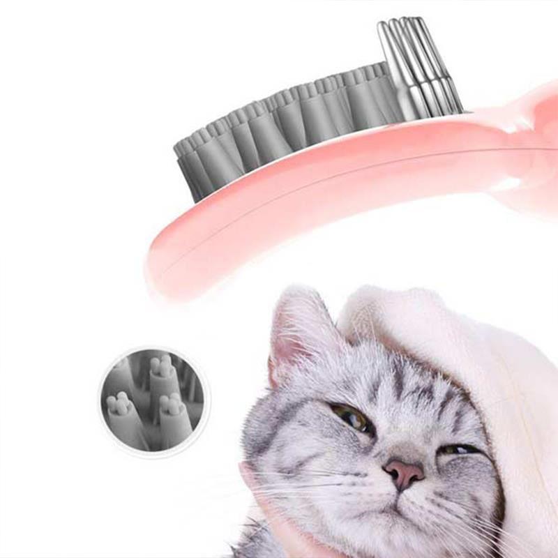Cat Idea Banyo Fırçası Sarı