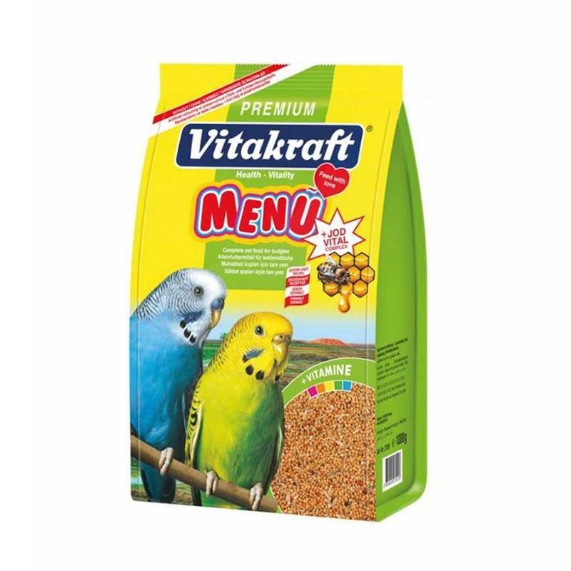 Vitakraft Menü Premium Muhabbet Kuşu Yemi 500 Gr