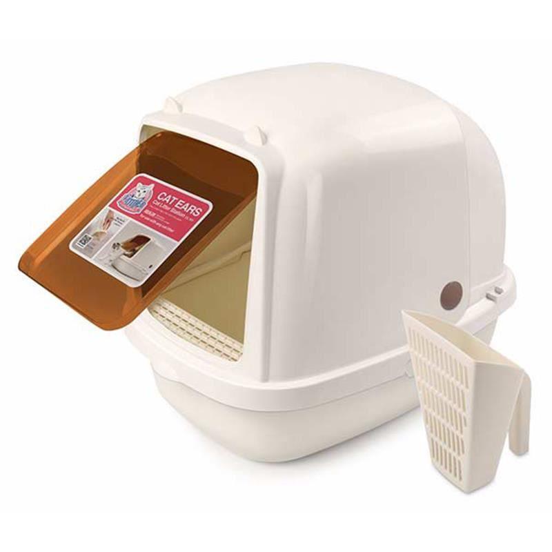 Cat Idea Tuvalet Kabı Kapalı Jumbo