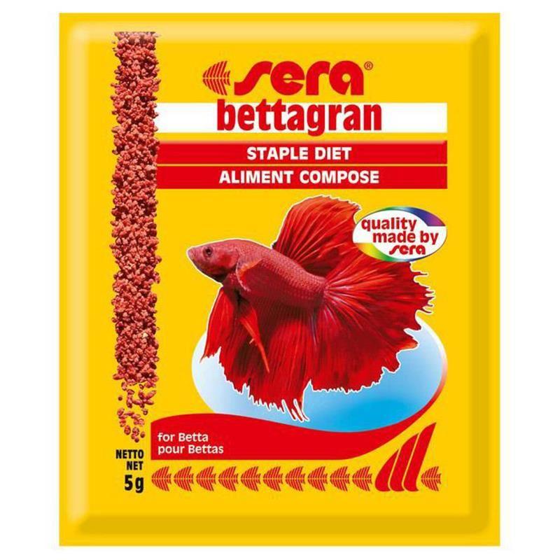 Sera Bettagran Beta Balığı Yemi 5 Gr