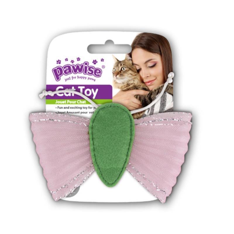 Pawise Kediler İçin Kelebek Kedi Oyuncağı 13 cm