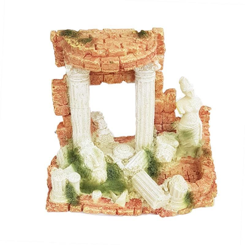 Chicos Akvaryum Dekoru Roma Sütunu 15x9x12,5 Cm