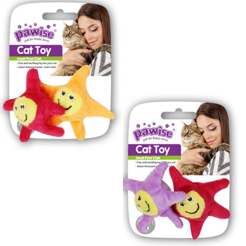 Pawise Yıldız Kedi Oyuncağı İkili 8 Cm