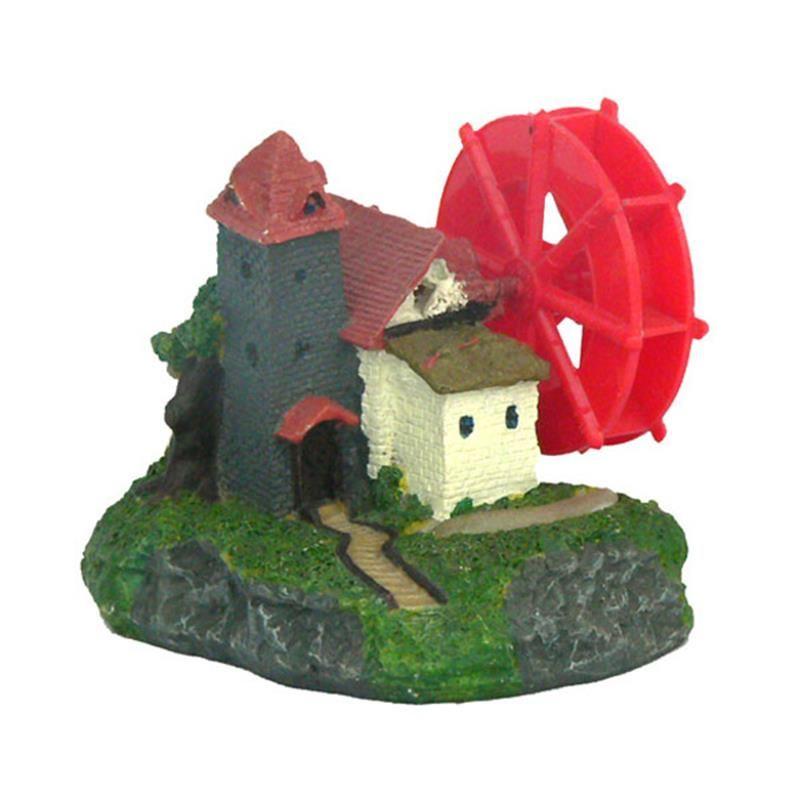 Chicos Akvaryum Dekoru Rüzgar Değirmeni 11x10x10 Cm