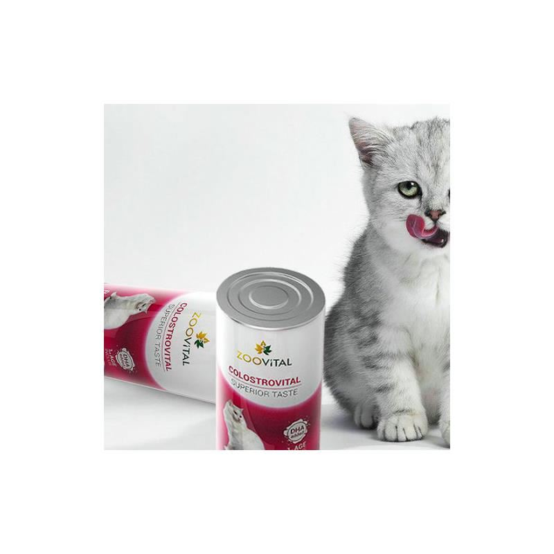 Zoovital Colostrovital Yavru Kedi Süt Tozu 200 gr Biberon Seti Hediyeli
