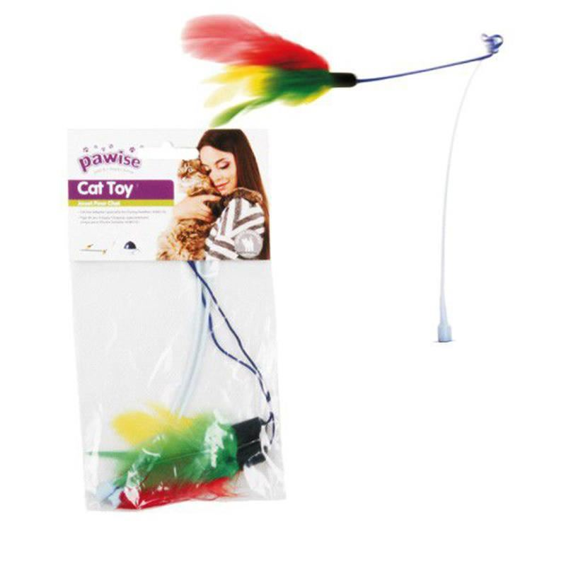 Pawise Rod With Playing Toy (Two Pack)