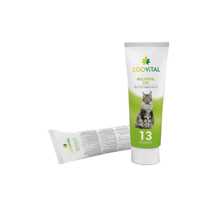 Zoovital Multivital Multivitamin Kedi Macunu 100 gr
