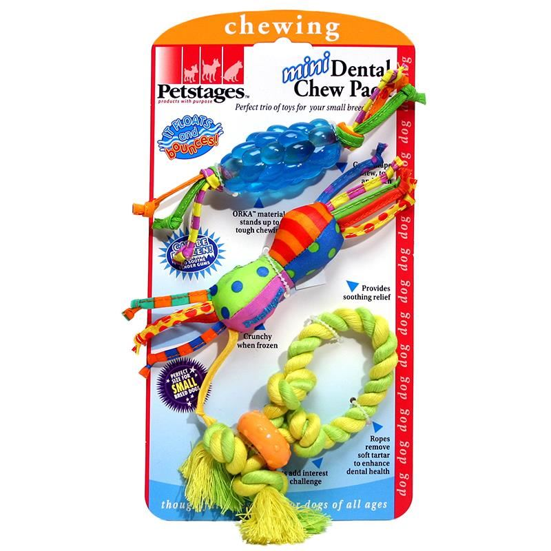 Petstages Mini Dental Chew Pack Küçük Irk Köpekler İçin Diş Çiğneme Paketi