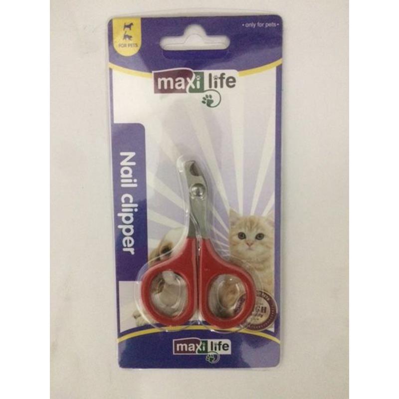 Maxi Life LD19 Ergonomik Kedi Tırnak Makası 8,5 Cm
