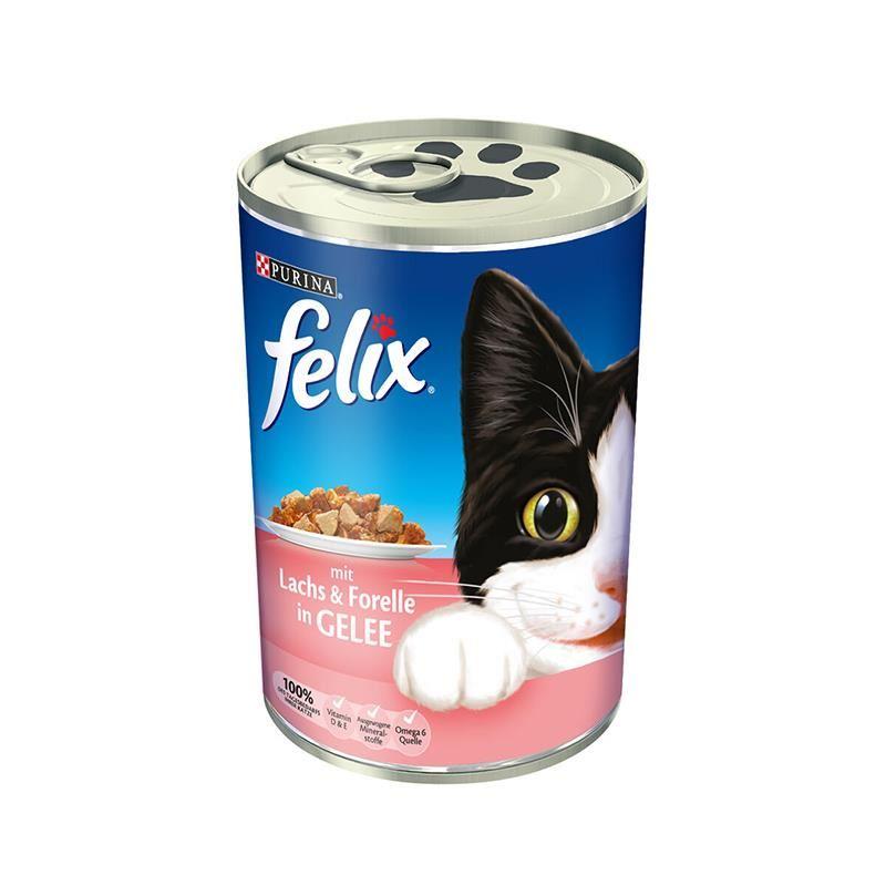 Purina Felix Somon ve Alabalıklı Kedi Konservesi 400 Gr