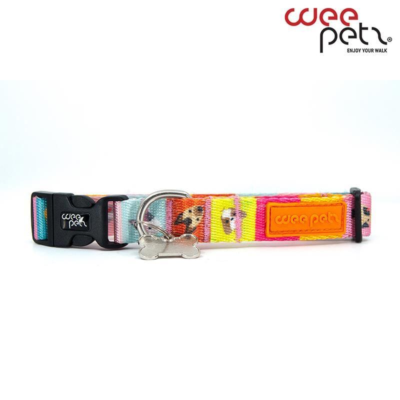 WeePetz Gansta Collar Köpek Boyun Tasması Medium