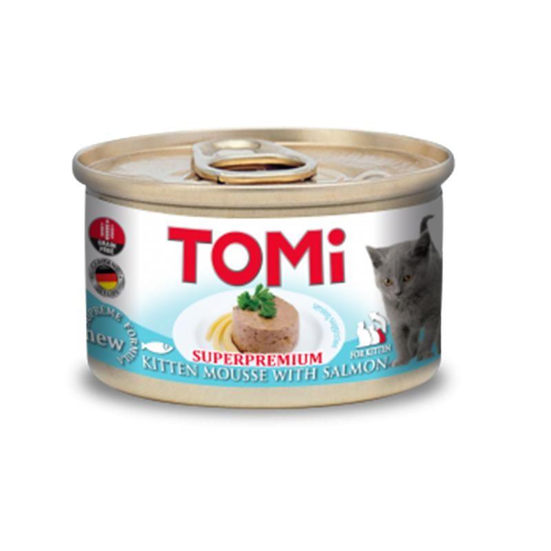 Tomi Superpremium Somonlu Tahılsız Yavru Kedi Konservesi 85 Gr